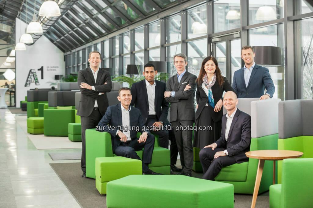 Management Team A1 digital international GmbH (Fotocredit: © 2017 Renée del Missier), © Aussender (14.02.2017)