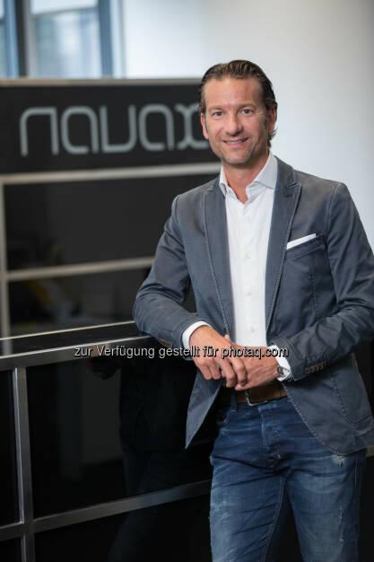 Oliver Krizek, Eigentümer und Geschäftsführer der NAVAX Unternehmensgruppe - NAVAX Unternehmensgruppe: Gesamte NAVAX Unternehmensgruppe ist ISO 27001 zertifiziert (Fotocredit: NAVAX Unternehmensgruppe), © Aussender (15.02.2017)