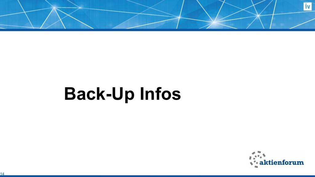 Back-Up Infos (16.02.2017)