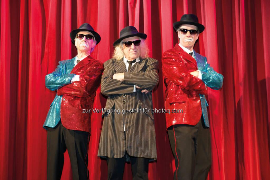 Clownerie & Magie mit den Fools Brothers - KulTour Amt: Die weltweit unbekannten FOOLS BROTHERS sind zurück! Comedy Magic Show im Kabarett Vindobona! Regie: Clown-Legende Jango Edwards (Fotocredit: Aram Voves), © Aussender (16.02.2017)