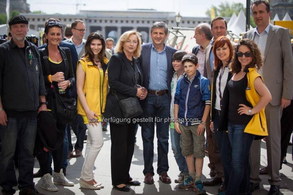 Stadtfest Wien, ÖVP mit u.a. Maria Fekter, Isabella Leeb, Michael Spindelegger (12.05.2013)