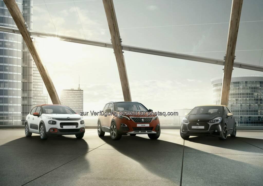 """Peugeot Austria GmbH: Groupe PSA: Rekordrentabilität und erfolgreiche Markteinführungen ein Jahr nach """"Push to Pass (Fotocredit: Groupe PSA), © Aussendung (23.02.2017)"""