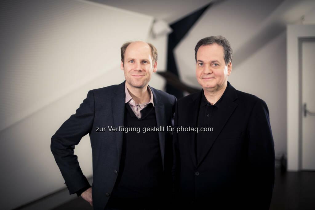 Christoph Ehrenfellner und Christian Altenburger - Verein Kunst im Kubus: 12. LOISIARTE im LOISIUM von 23. - 26. März 2017 (Fotocredit: pov.at), © Aussender (27.02.2017)