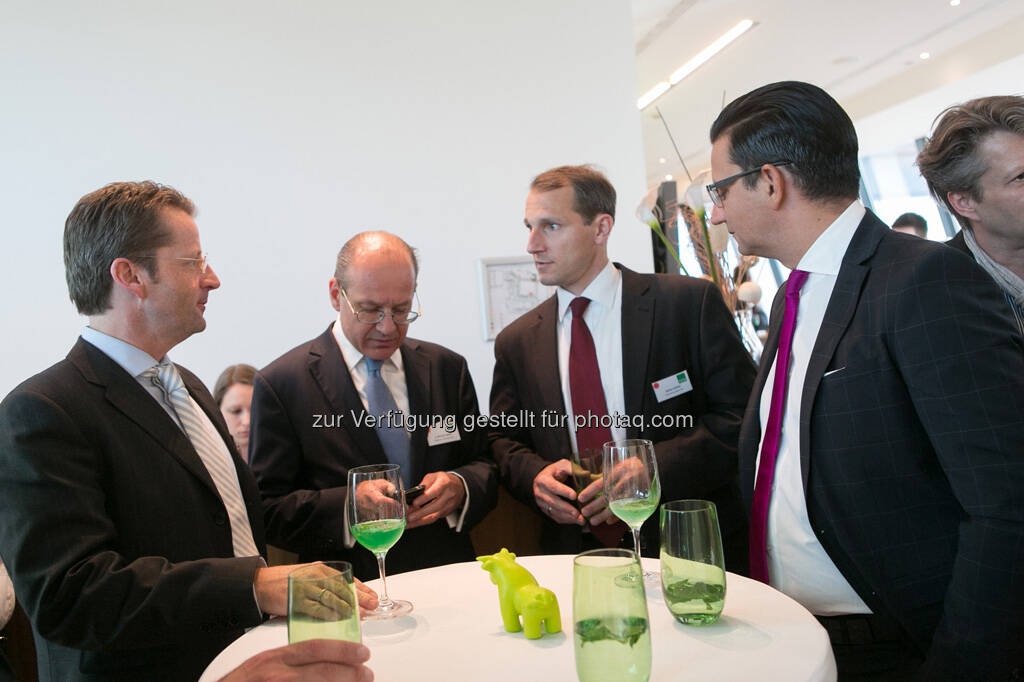 Michael Spiss (Raiffeisen Centrobank AG), Stefan Dörfler (Erste Group), © Martina Draper für BE / finanzmarktfoto.at (14.05.2013)
