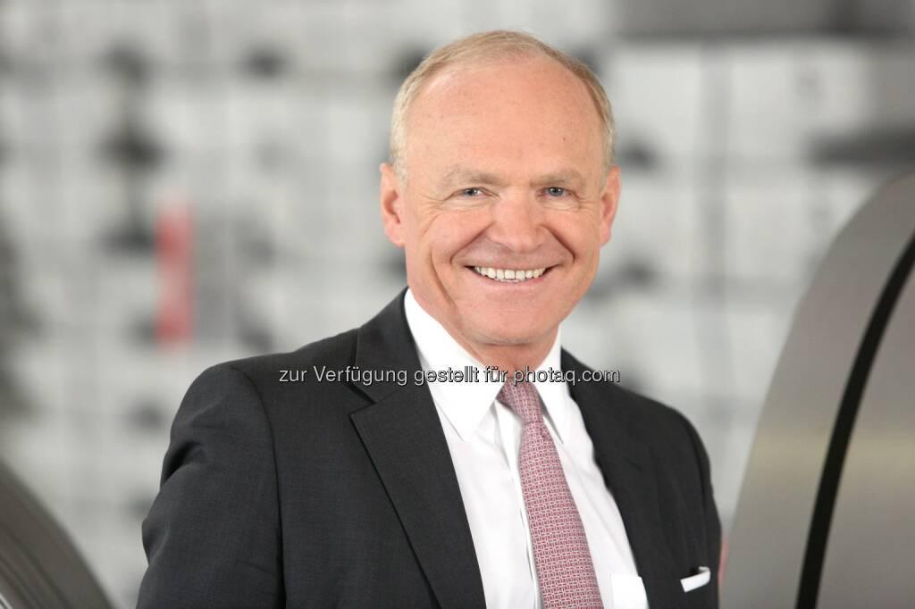 Dipl.-Ing. Helmut Wieser, Vorstandsvorsitzender der AMAG Austria Metall AG - AMAG Austria Metall AG: AMAG Austria Metall AG / Deutliche Ergebnissteigerung und Rekordabsatz im Geschäftsjahr 2016 (mit Bild) (Fotocredit: AMAG), © Aussender (28.02.2017)