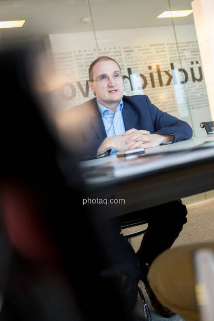 Andreas Segal (CFO Buwog), © Martina Draper/photaq (07.03.2017)