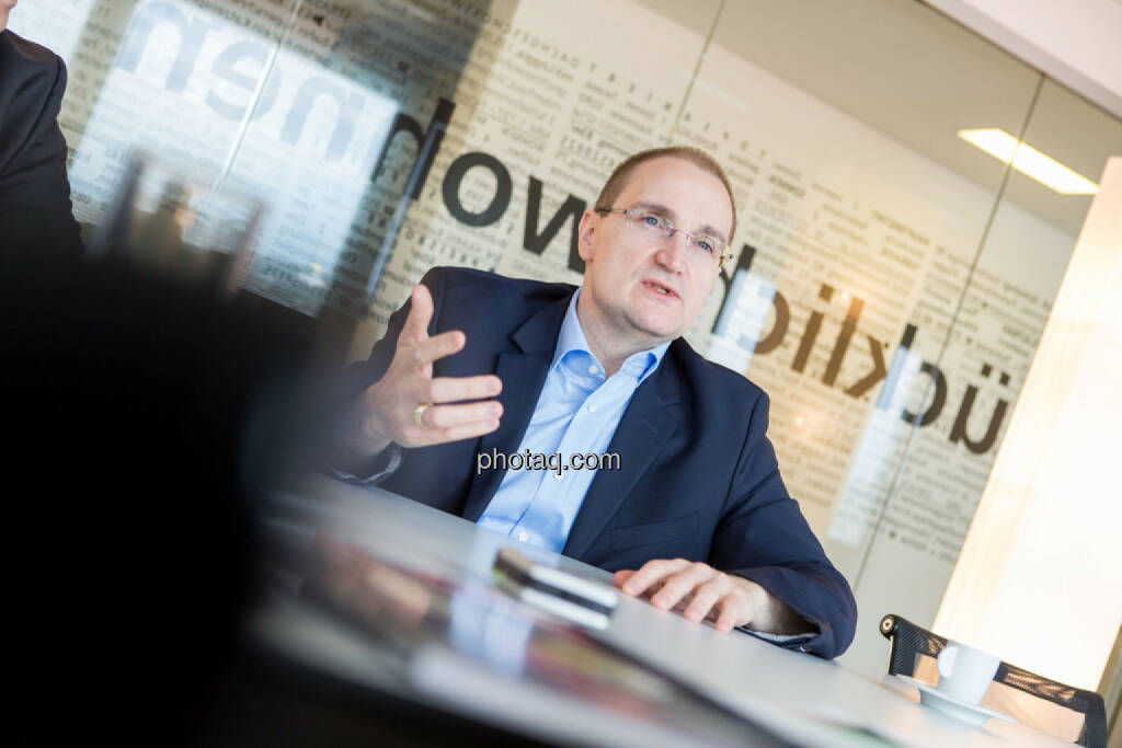 Andreas Segal (CFO Buwog), © Martina Draper/photaq (07.03.2017)