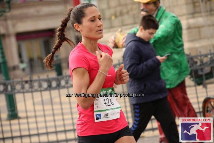 Monika Kalbacher bei Laufen Hilft (C) Sportograf