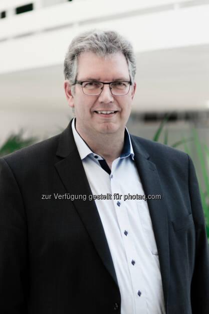Christian Bischoff, CEO Log4Real - epmedia Werbeagentur GmbH: Log4Real entwickelt mit dem INDUSTRIAL CAMPUS VIENNA EAST den größten und modernsten Logistik-Campus in Österreich. (Fotocredit: Log4Real), © Aussender (08.03.2017)