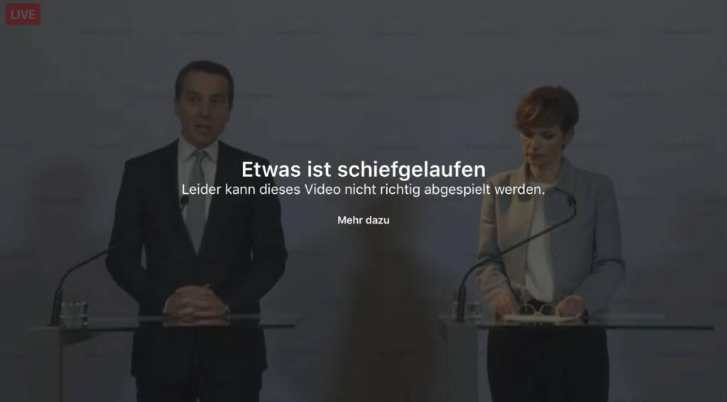 Error Fehler SPÖ (08.03.2017)
