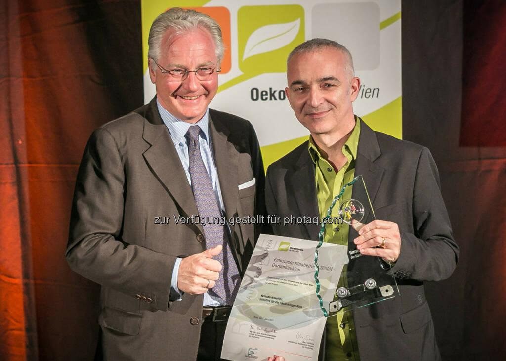 Umweltpreis 2017 - Gartenbaukino (c) Houdek, © Aussender (08.03.2017)