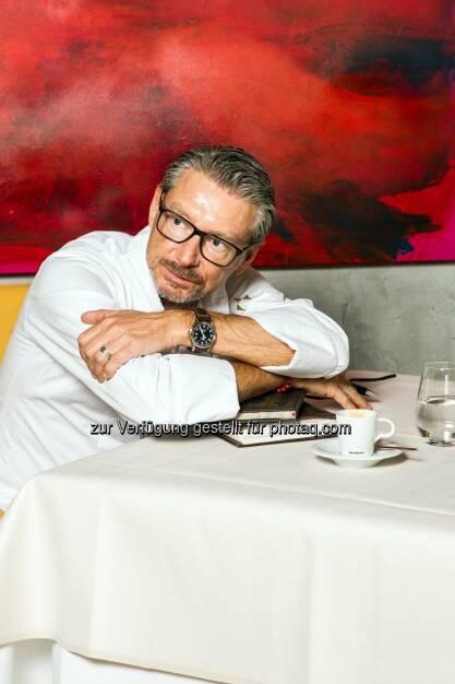 Andreas Kaiblinger, Restaurant Esszimmer - NESPRESSO Österreich GmbH & Co OHG: Für vier Wochen im Gourmethimmel (Fotocredit: Nespresso), © Aussender (09.03.2017)
