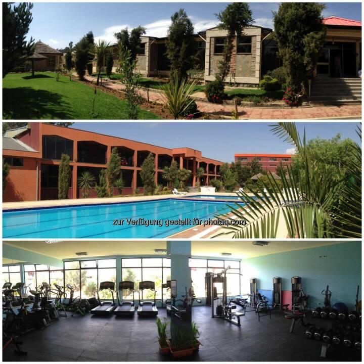 Hotelanlage, Pool, Gym