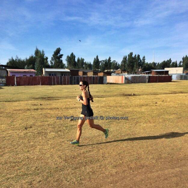 Monika Kalbacher, laufen, Äthiopien (10.03.2017)