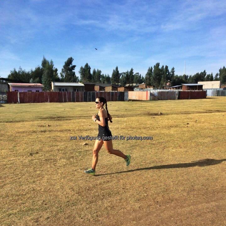 Monika Kalbacher, laufen, Äthiopien
