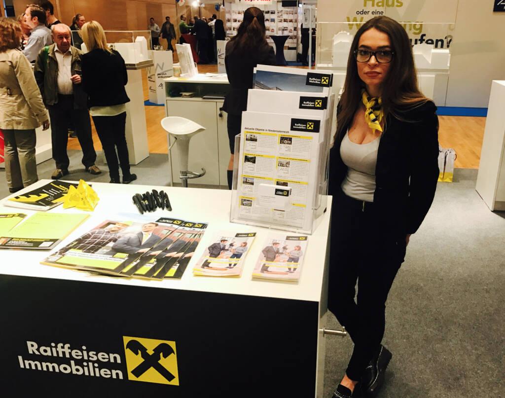 Raiffeisen Immobilien auf der Wohnen und Interieur Messe in Wien 2017 (12.03.2017)