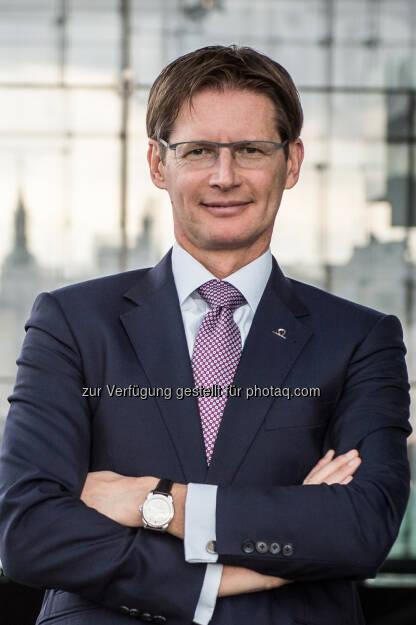 Andreas Kößl, Vorstand UNIQA Österreich - UNIQA Insurance Group AG: UNIQA Österreich lanciert neues Produkt für Hausverwalter und Immobilienbesitzer (Fotocredit: Rudi Froese), © Aussender (13.03.2017)