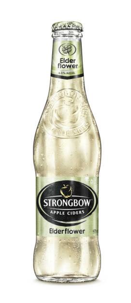 Strongbow Elderflower - bei den International Brewing & Cider Awards ausgezeichnet - Brau Union Österreich AG: International Brewing & Cider Awards: Auszeichnungen für Edelweiss Alkoholfrei und Strongbow (Fotocredit: Brau Union Österreich), © Aussendung (13.03.2017)