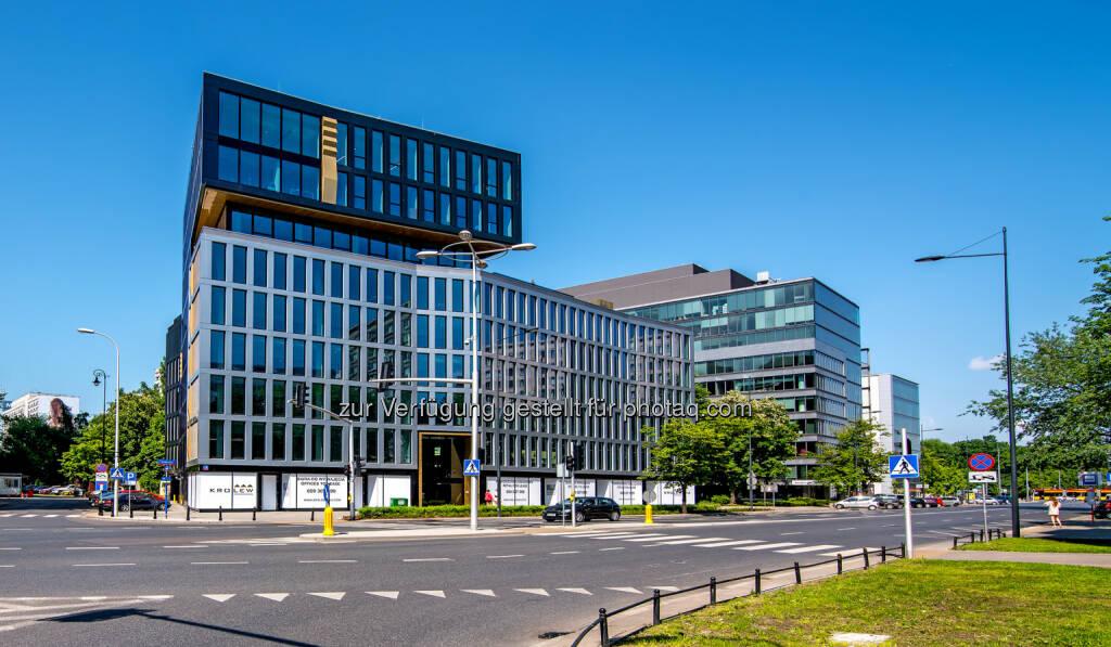 Das Projekt kroLEWska des Projektentwicklers S+B Gruppe AG in Warschau. - S+B Gruppe AG: S+B GRUPPE: Vier Gewinnt – LEED PLATIN Quartett! (Fotocredit: S+B), © Aussendung (13.03.2017)