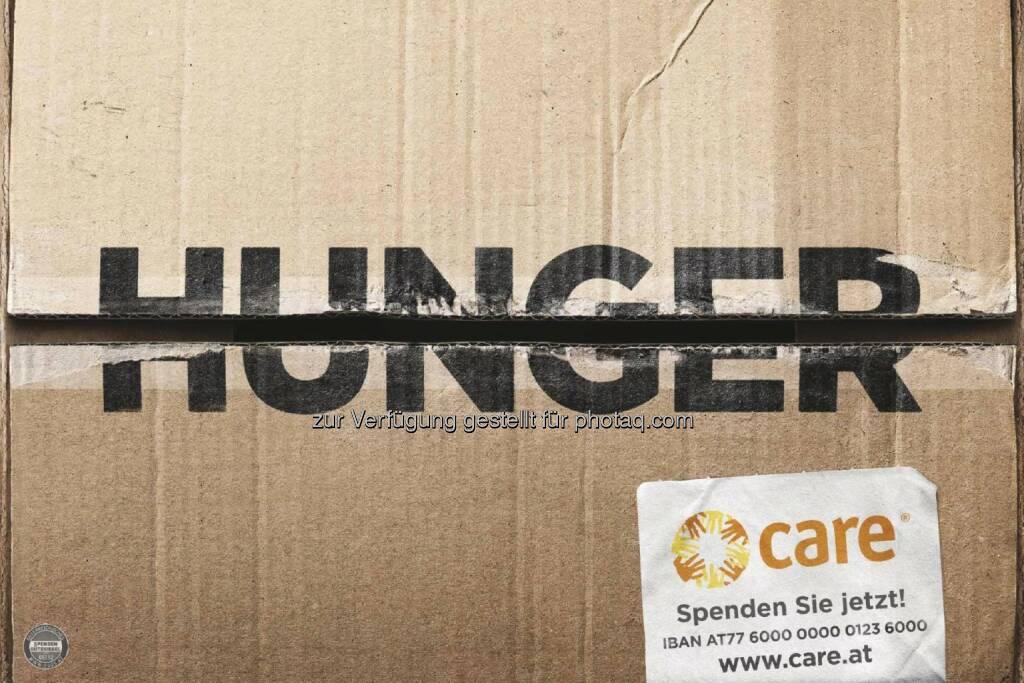 CARE Österreich: Neue Kampagne von CARE Österreich macht Hunger und Armut einen Strich durch die Rechnung (Fotocredit: WIEN NORD für CARE), © Aussender (14.03.2017)
