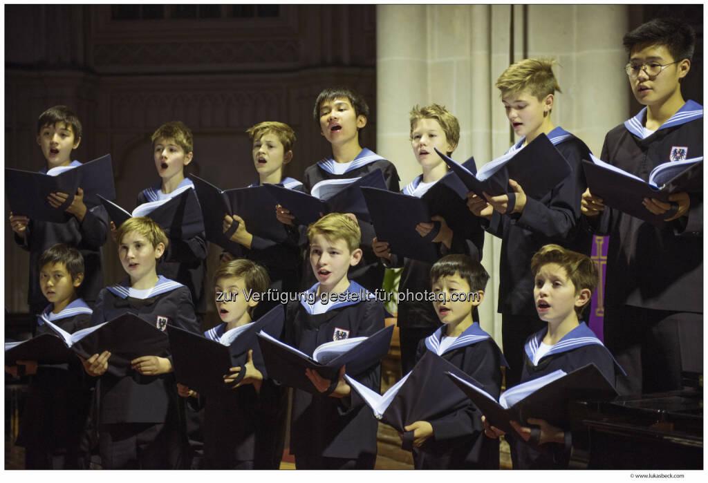 Ausbildung und Chorgesang sind Immaterielles Kulturerbe - Wiener Sängerknaben: Hohe UNESCO-Auszeichnung für die Wiener Sängerknaben (Fotocredit: (c) Lukas Beck), © Aussender (17.03.2017)