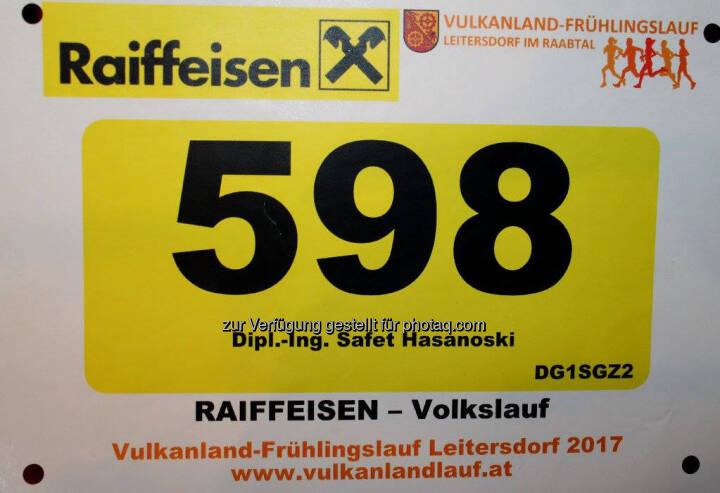 Startnummer, Raiffeisen