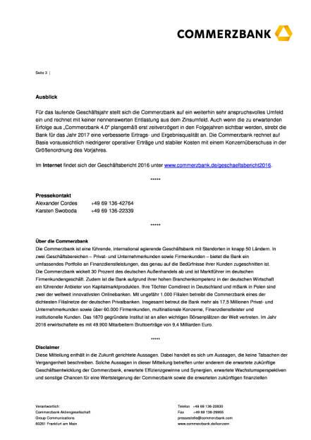 Commerzbank veröffentlicht Geschäftsbericht 2016, Seite 3/4, komplettes Dokument unter http://boerse-social.com/static/uploads/file_2177_commerzbank_veroffentlicht_geschaftsbericht_2016.pdf (23.03.2017)