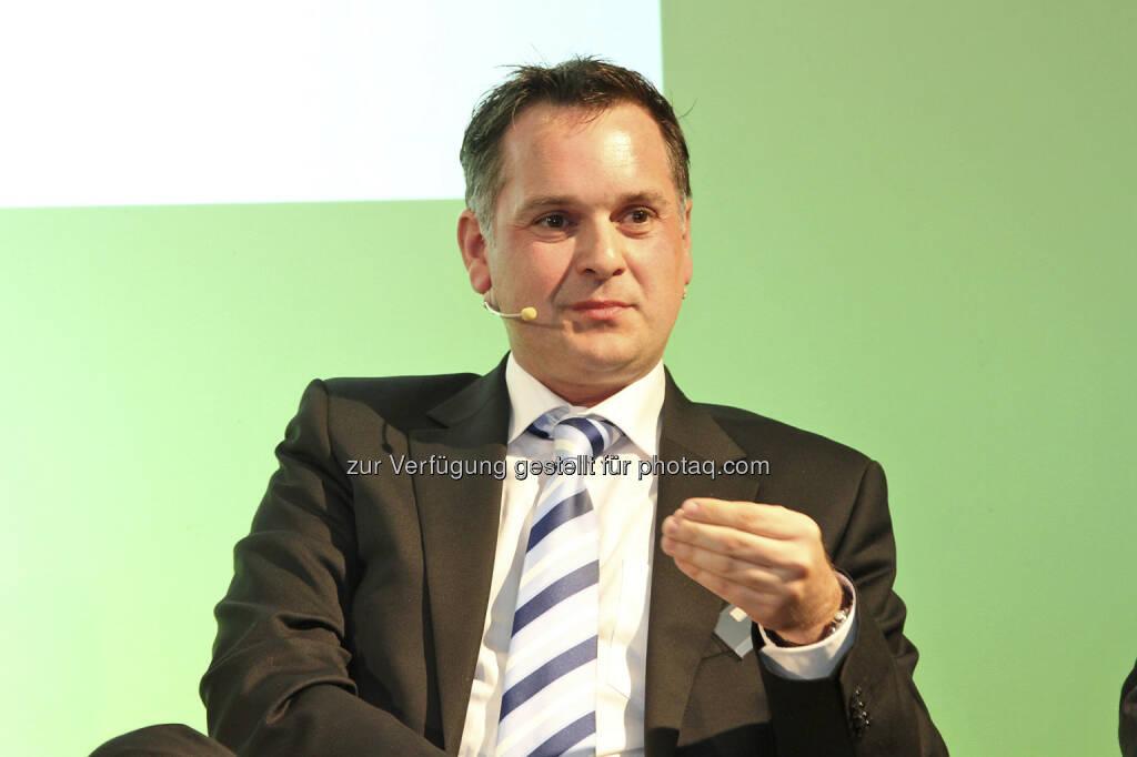 Ronald Zilavec (Bankhaus Spängler), © Norbert Novak für das ZFA (14.05.2013)