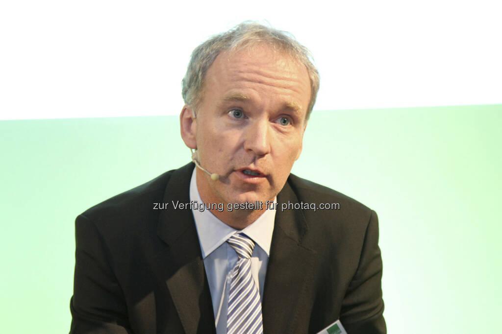 Christian Drastil (Moderation Roundtable), © Norbert Novak für das ZFA (14.05.2013)