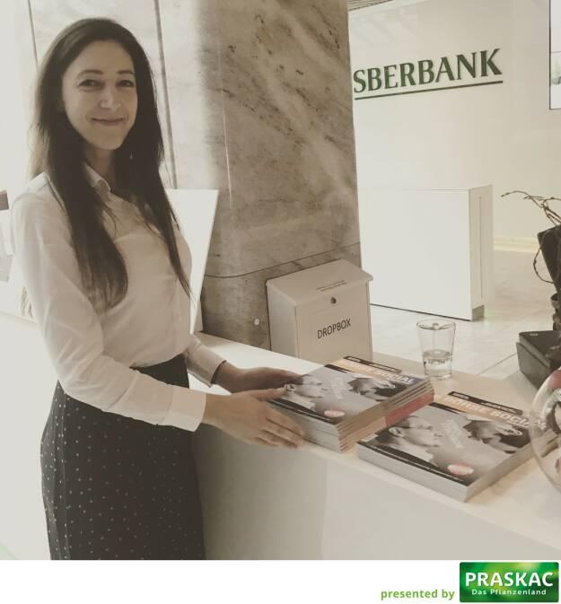 Bei der Sberbank mit Linda Michalech (27.03.2017)