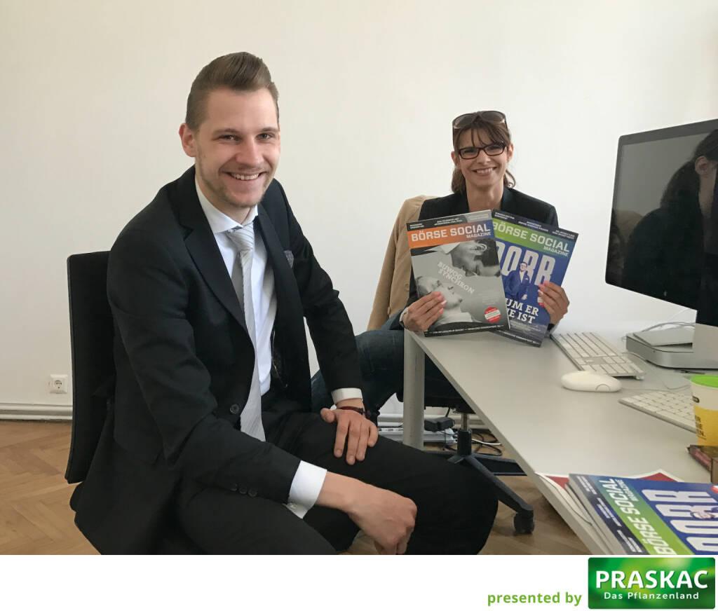 Mit Patrick Kriegbaum und Claudia Witzik-Bittner (28.03.2017)