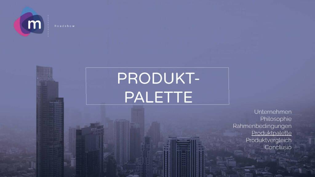 Präsentation moomoc - Produktpalette (30.03.2017)