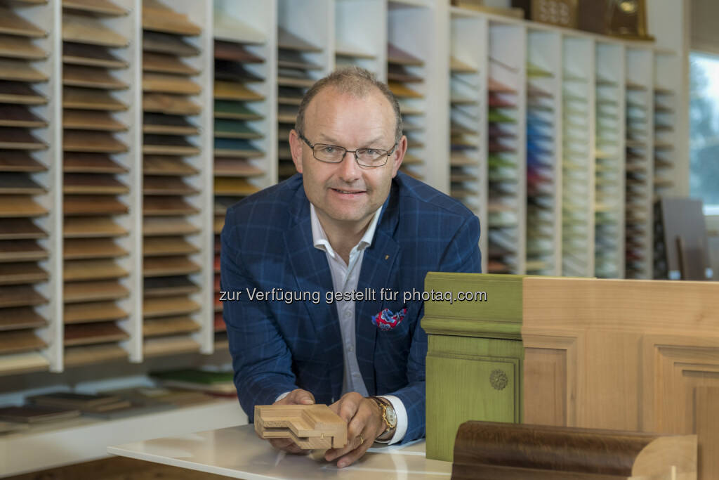 Karl Bucher, CEO der Karl Bucher AG, Goldau, Schweiz - Karl Bucher AG: Schweizer Top Schreiner voll im Trend (Fotocredit: obs/Karl Bucher AG), © Aussender (05.04.2017)