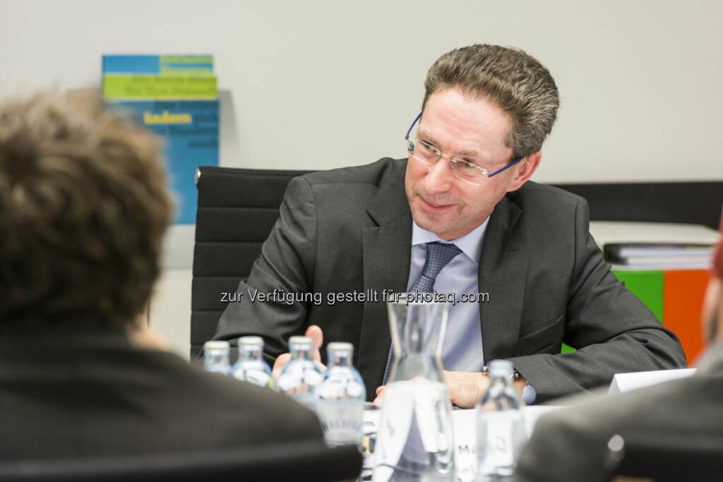 Dr. Helmut Hardt, Mitglied des Vorstandes, Wiener Privatbank SE - Wiener Privatbank SE: Trendwende am Wiener Immobilienmarkt? (Fotocredit: George Kaulfersch * georgeye.com), © Aussender (07.04.2017)