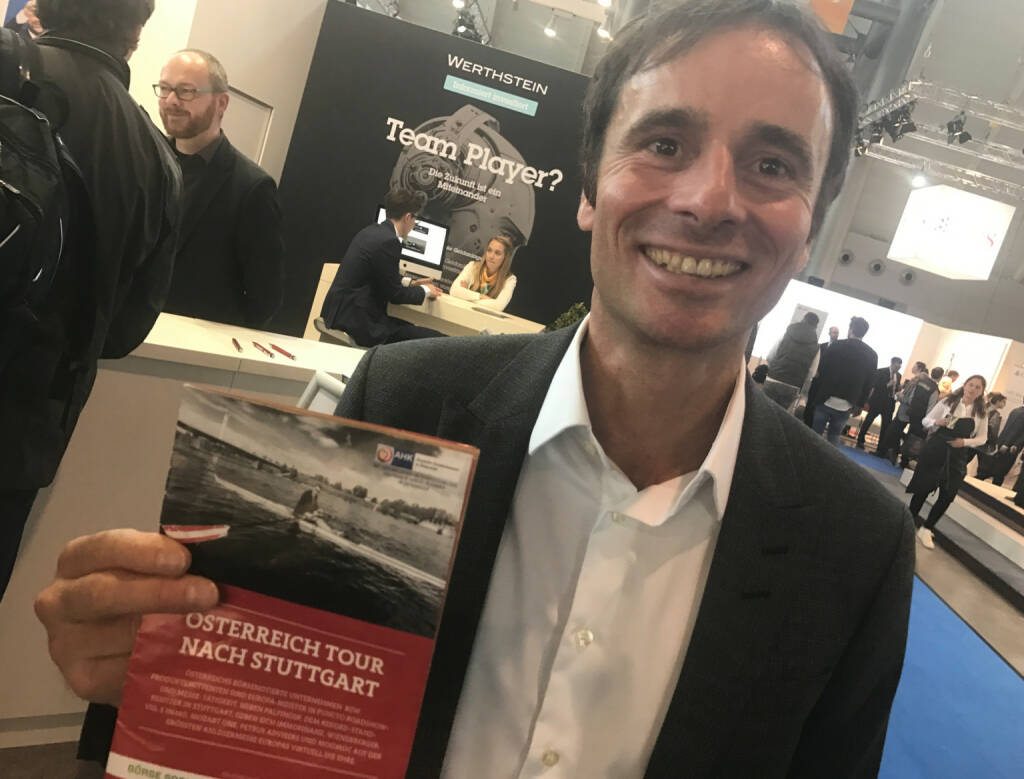 Robert Abend mit dem Mini-  http://www.boerse-social.com/magazine , beigelegt bei http://markteinblicke.de #invest2017 (09.04.2017)