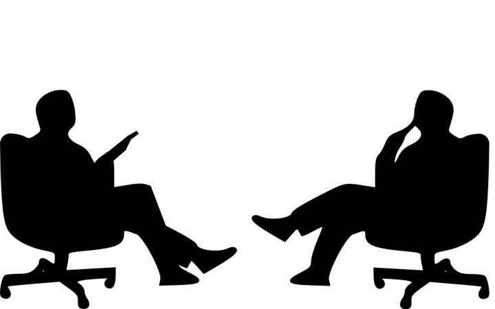 Interview, Gespräch, Job, Talk, Sitzung - (Bild: Pixabay/Tumisu https://pixabay.com/de/interview-gespräch-sitzen-2071228/ )