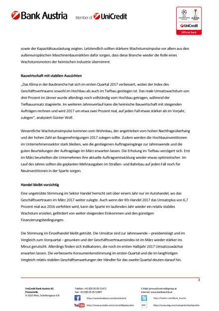 UniCredit Bank Austria Branchenüberblick: Stimmung in Österreichs Branchen klart im Frühjahr 2017 auf, Seite 3/4, komplettes Dokument unter http://boerse-social.com/static/uploads/file_2203_unicredit_bank_austria_branchenuberblick.pdf (11.04.2017)