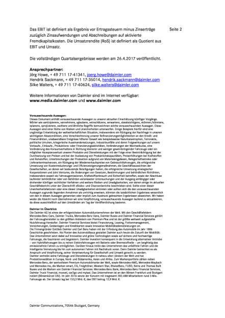 Ebit des Daimler-Konzerns im ersten Quartal 2017 , Seite 2/2, komplettes Dokument unter http://boerse-social.com/static/uploads/file_2205_ebit_des_daimler-konzerns_im_ersten_quartal_2017.pdf (11.04.2017)