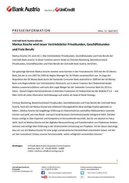 Markus Kosche wird neuer Vertriebsleiter Privatkunden, Geschäftskunden und Freie Berufe, Seite 1/1, komplettes Dokument unter http://boerse-social.com/static/uploads/file_2206_markus_kosche_wird_neuer_vertriebsleiter_privatkunden_geschaftskunden_und_freie_berufe.pdf (12.04.2017)