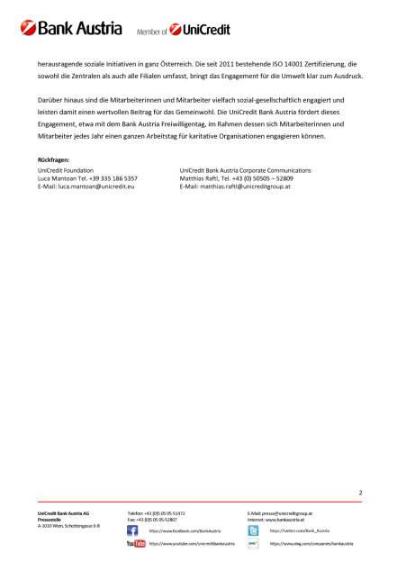 UniCredit Foundation: 449 Sozialprojekte  in 15 europäischen Ländern wurden mit rund 2,5 Millionen Euro an Spenden unterstützt , Seite 2/2, komplettes Dokument unter http://boerse-social.com/static/uploads/file_2208_unicredit_foundation_449_sozialprojekte_in_15_europaischen_landern_wurden_mit_rund_25_millionen_euro_an_spenden_unterstutzt.pdf (12.04.2017)