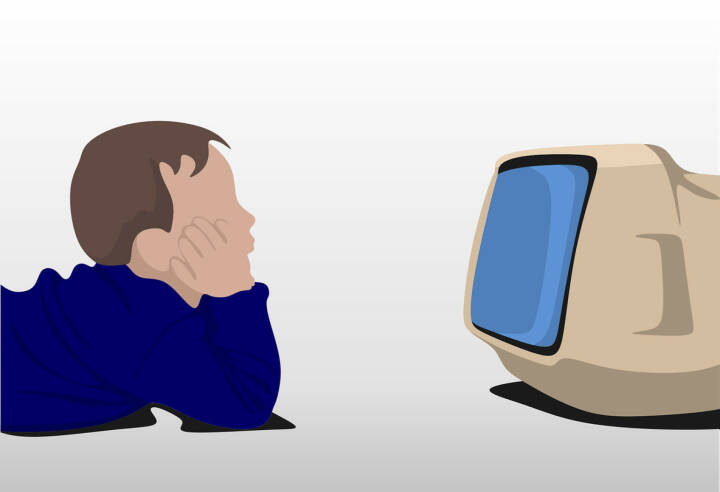 Fernsehen, Streamen, Netflix (Bild: Pixabay/ROverhate https://pixabay.com/de/beobachten-tv-kind-fernsehen-home-2082788/ )