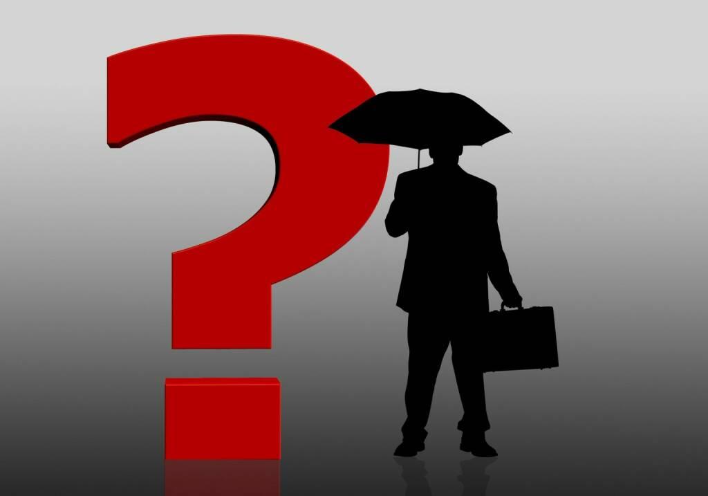 Frage, Warum, Ratlos (Bild: Pixabay/geralt https://pixabay.com/de/fragezeichen-frage-antwort-96287/ ) (21.04.2017)