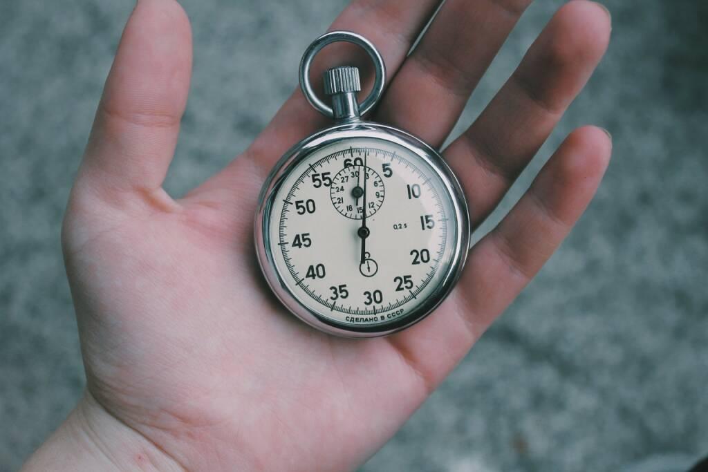 Zeit, Uhr, Stoppuhr, Rekord, Schnell (Bild: Pixabay/Unsplash https://pixabay.com/de/zeit-stoppuhr-uhr-stunden-minuten-731110/ ) (21.04.2017)