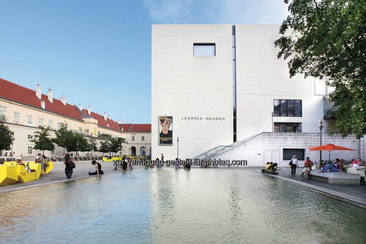 Leopold Museum im MQ: Neuer Pächter für das Cafe Leopold: Die Gyoza Brothers Gruppe übernimmt Gastronomie des Leopold Museum (Bild: Julia Spicker/Leopold Museum)