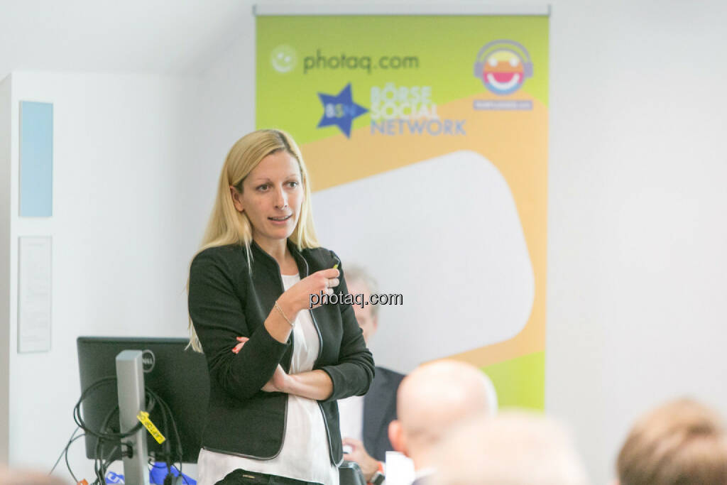 Lisa Wagerer (S Immo, aktientrophy.at), © Martina Draper/photaq (27.04.2017)