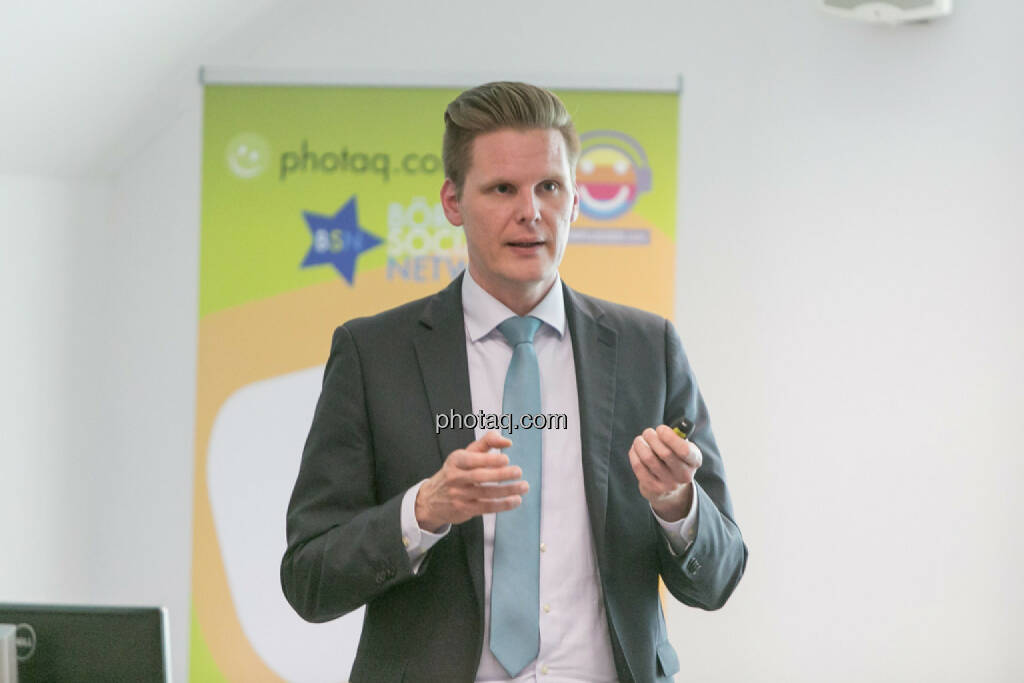 Florian Helmberger (Hello bank!), © Martina Draper/photaq (27.04.2017)
