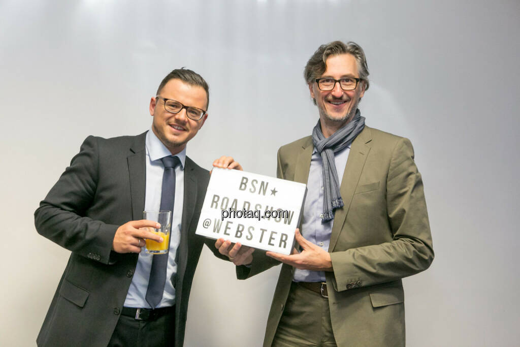 Michael Plos, Josef Chladek (BSN), © Martina Draper/photaq (27.04.2017)