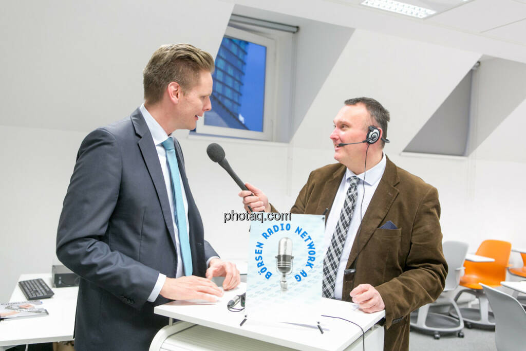 Florian Helmberger (Hello bank!), Peter Heinrich (BRN), © Martina Draper/photaq (27.04.2017)