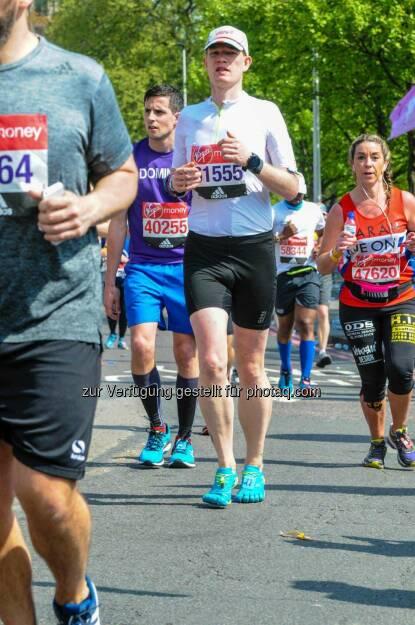 Ulrich Stürzlinger beim Virgin Money London Marathon, © Aussendung (28.04.2017)