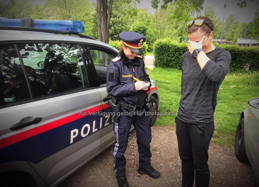 Tanja Bauer, Tanja Stroschneider, Polizei, Kontrolle, Strafe, Strafzettel, © Tanja Stroschneider (03.05.2017)